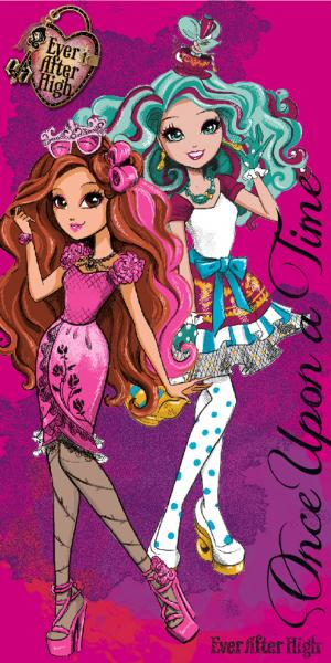 Detská  osuška 70x140 Ever After High